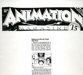 Animation Magazine Reviews Miss Muffy