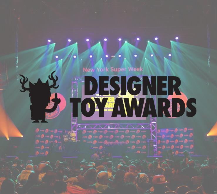 Designer Toy Awards Web Design